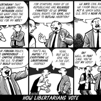 How Libertarians Vote