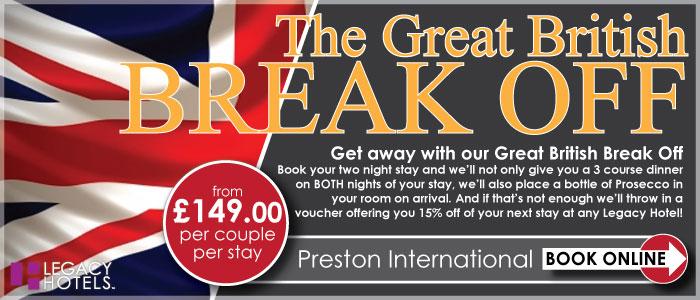 PRESTON INTERNATIONAL HOTEL Preston gbbo