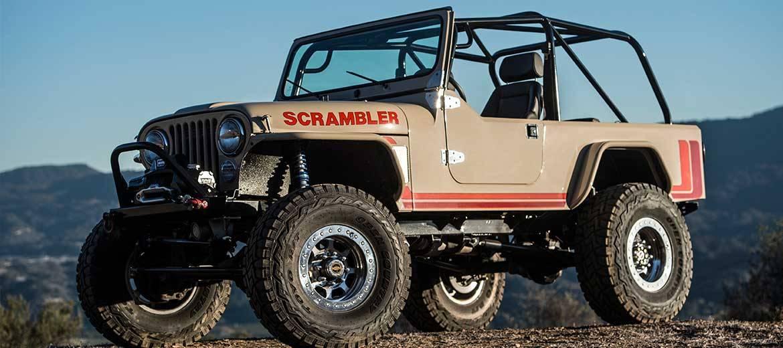 Legacy Scrambler Conversion Dualsport V8 Jeep Dualsport Build