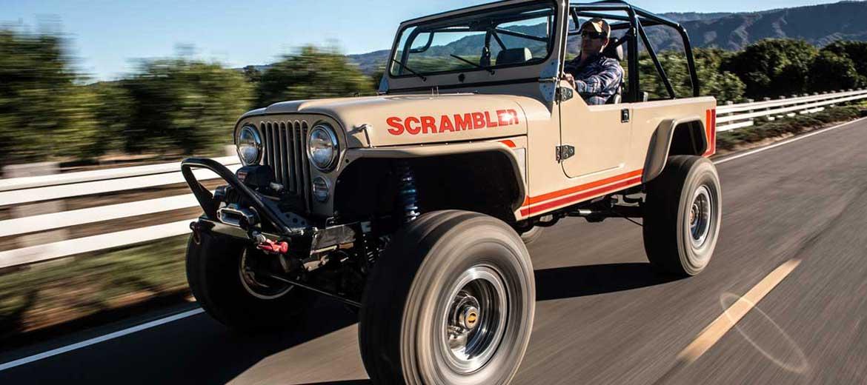 Legacy Scrambler Conversion Jeep Scrambler