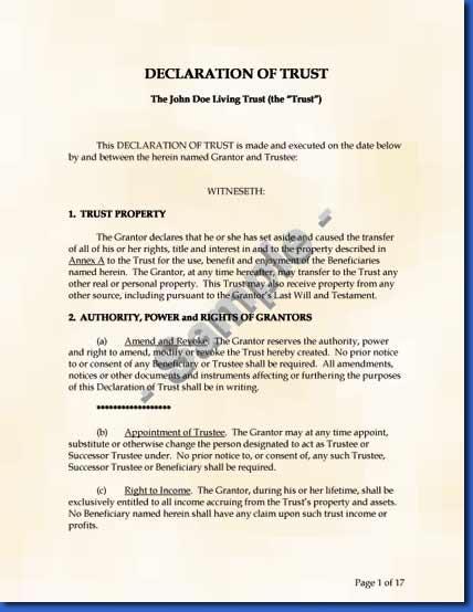 Legal-Kitsnet - Legal Living Trust Kits
