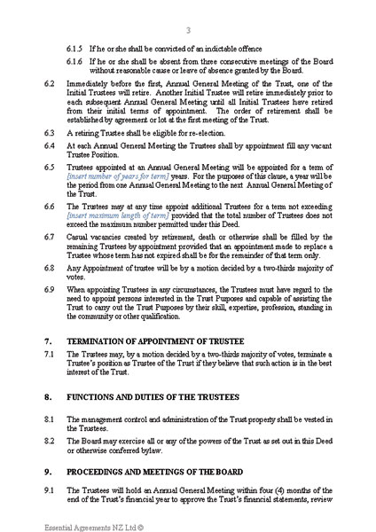 Document and User Guide Sample New Zealand Legal Documents - end user documentation template
