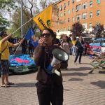 Referendum 17 Aprile Legambiente porta il mare a Roma, al Tufello in piazza per dire Stop alle Trivelle