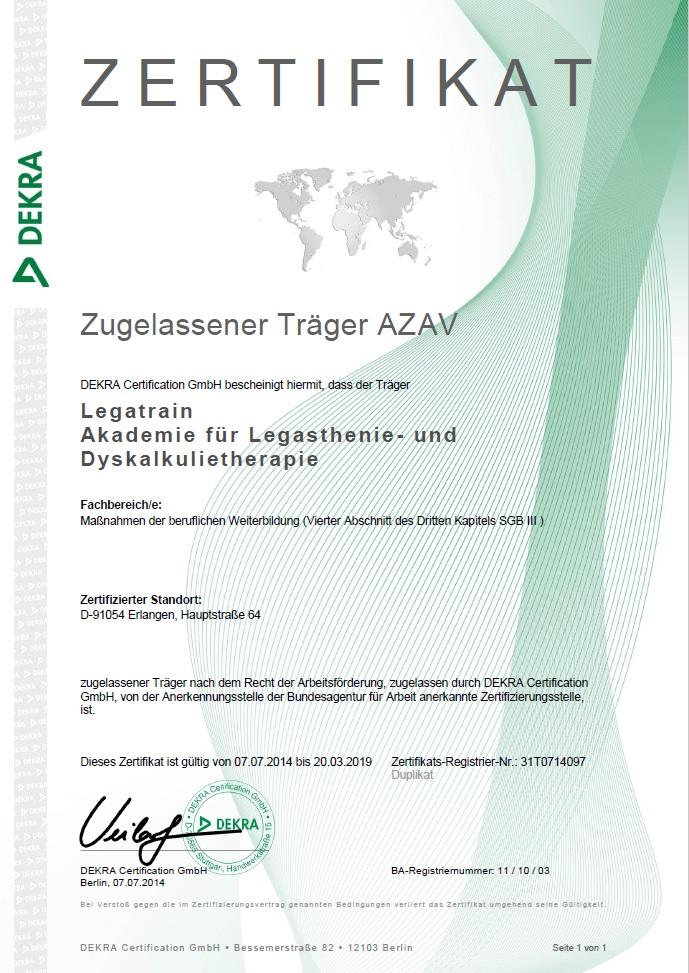 zertifikat-dekra-weiterbildungsträger