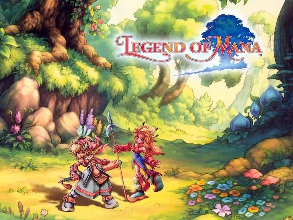 Anime Pet Wallpaper Legend Of Mana Fiche Rpg Reviews Previews Wallpapers