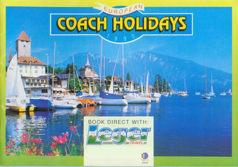 Leger Holiday\u0027s Brochure Covers from 1989