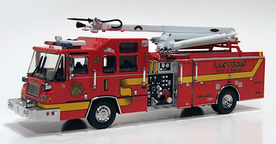 Die Cast Fire And Emergency Vehicles Aerial Towers