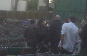 Halle Berry et Olivier Martinez- Découvrez les au concert de Kylie Minogue