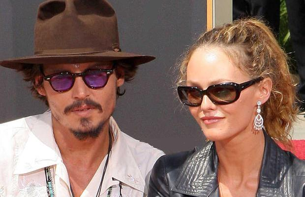 Johnny Depp Vanessa Paradis genealogie