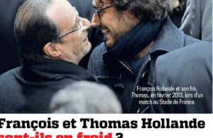 Thomas Hollande en froid avec François Hollande