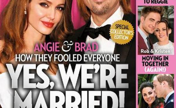 Angelina Jolie et Brad Pitt, mariage discret  Miraval