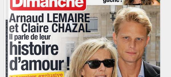 Arnaud Lemaire et Claire Chazal histoire amour