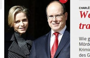 Charlène de Monaco oubliée par Corinna zu Sayn-Wittgenstein