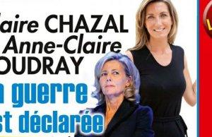 Claire Chazal et Anne-Claire Coudray