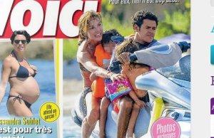 Jamel Debbouze Melissa Theuriau vacances en Corse