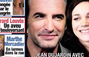 Jean Dujardin peste contre Gala à cause de Nathalie Péchalat