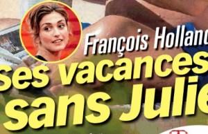 Julie Gayet et François Hollande partages sud france