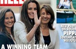La mere de Kate Middleton snobe par filleule