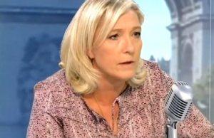 Marine Le Pen en sanglot au mariage de Marion Maréchal