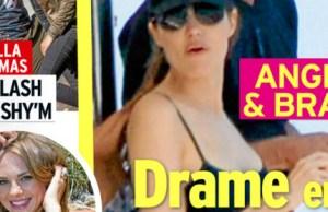 Angelina Jolie et Brad Pitt, drame en pleine lune de miel