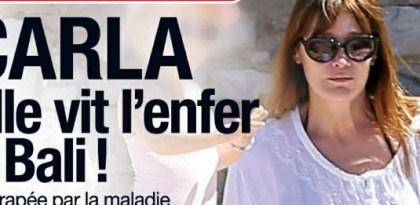 Carla Bruni en crise cause du retour de Nicolas Sarkozy