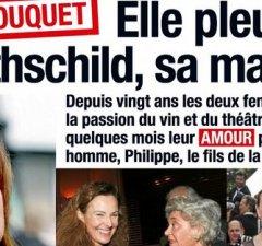Carole Bouquet pleure Philippine de Rothschild