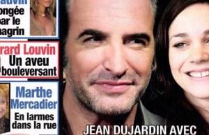 Jean Dujardin et Nathalie Péchalat au mariage de George Clooney