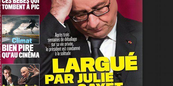 Julie Gayet et François Hollande charente