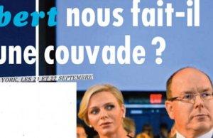 Le mari de Charlène de Monaco victime couvade