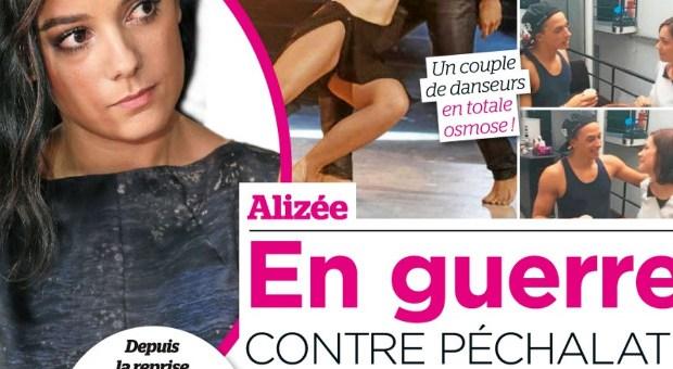 Alizee en guerre Nathalie Pechalat selon Public