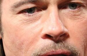 Brad Pitt tatouage en hommage Angelina Jolie