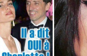 Gad Elmaleh et Charlotte Casiraghi mariage