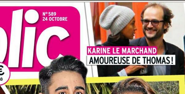 Karine Le Marchand en couple avec Thomas Lilti