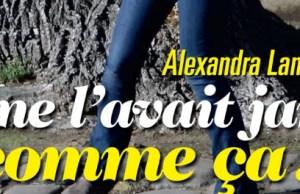 Alexandra Lamy, en larmes sur un quai de Paris dans Voici