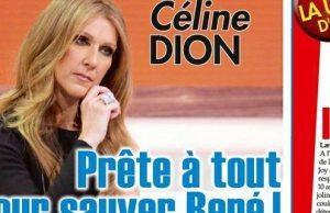 Céline Dion rassurée par l'état de René Angelil,