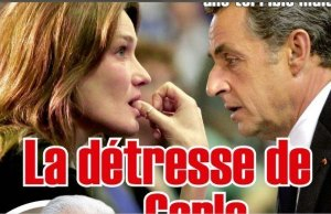 Carla Bruni, l'ombre de François Hollande au Grand Journal