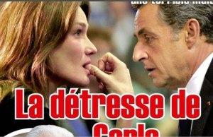 Carla Bruni, l'ombre de François Hollande au Grand Journal