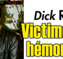 Dick Rivers victime d'une hémorragie cérébrale
