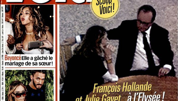 Julie Gayet et François Hollande trahis à l'Elysée