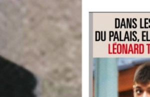 Julie Gayet nez à nez avec le fils de Valérie Trierweiler à l'Elysée