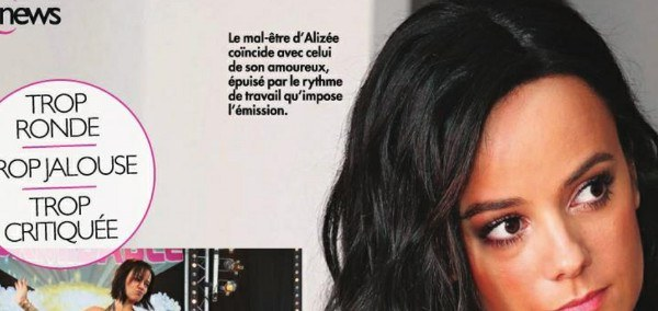 La jalousie d'Alizée comprise par Chris Marques