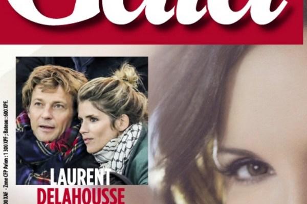 Laurent Delahousse et Alice Taglioni, l'amour au grand jour dans Gala
