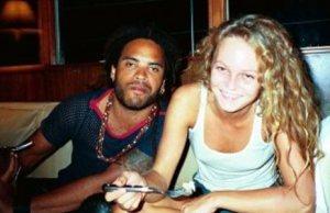 Lenny Kravitz et Vanessa Paradis,