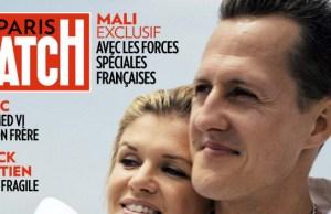 Michael Schumacher, en fauteuil roulant