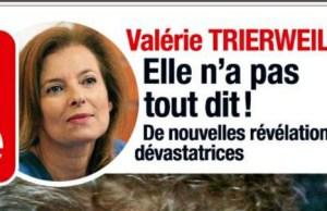 Valérie Trierweiler n'a pas encore tout déballé selon France Dimanche