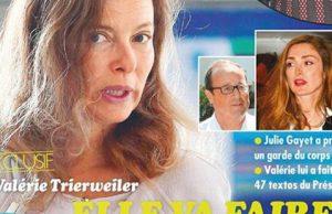 Valérie Trierweiler, un autre déballage sur François Hollande ete