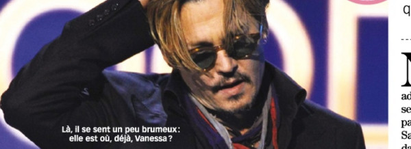 Vanessa Paradis, un appel au secours de Johnny Depp