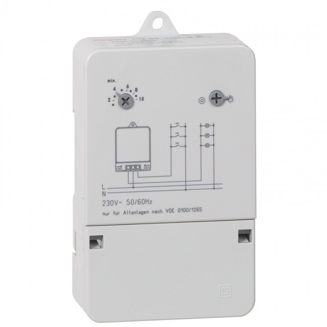 Automatic staircase time lag switch 230 V - 50 Hz - 0 497 83 - Legrand