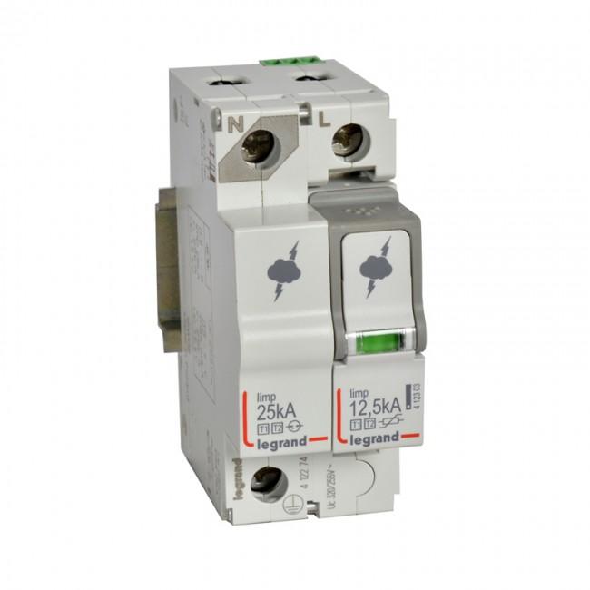 SPD - protection of main distribution board -T1+T2 -limp 125 kA