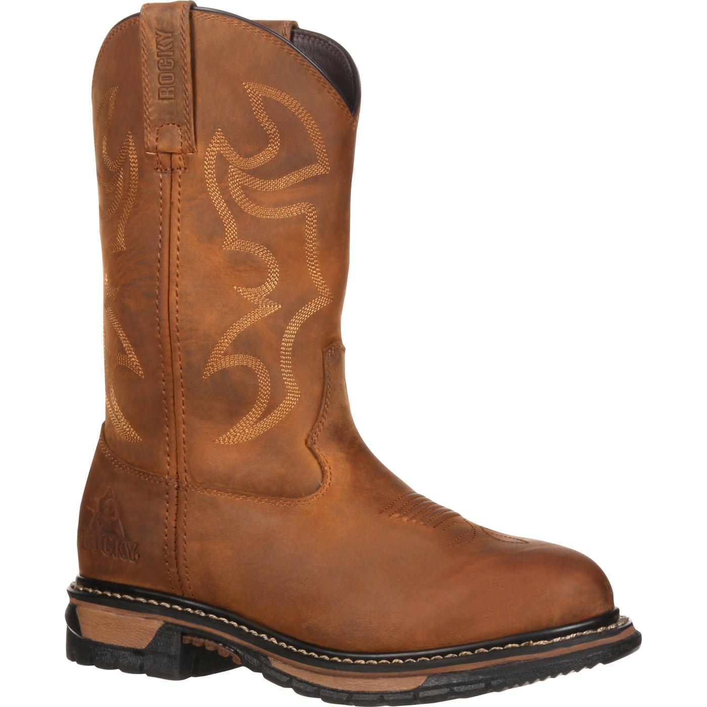 Women39s Waterproof Western Boot Rocky Original Ride Rkyw082